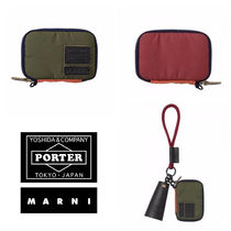 21S★NEW【MARNI x PORTER】コンパクトウォレット OLIVE GREEN