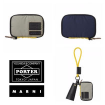 21S★NEW【MARNI x PORTER】コンパクトウォレット NAVY BLUE
