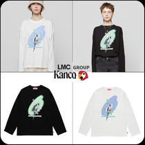 [ LMC GROUP ]★KANCO NOISE EFFECT LONG SLEEVE TEE
