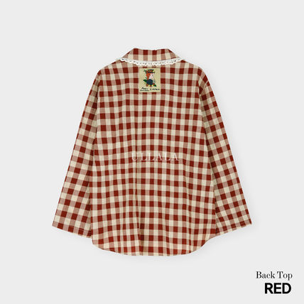 ULLALA ルームウェア・パジャマ ULLALA PAJAMAS Anne's Excitement Pair Red HM253 追跡付(10)
