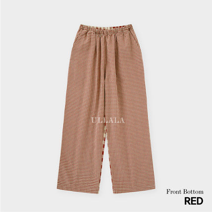 ULLALA ルームウェア・パジャマ ULLALA PAJAMAS Anne's Excitement Pair Red HM253 追跡付(11)