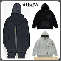 日本未入荷STIGMAの20 TECH OVERSIZED HEAVY SWEAT HOODIE 全2色