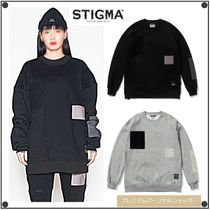 日本未入荷STIGMAのDV TECH OVERSIZED HEAVY SWEAT CREWNECK