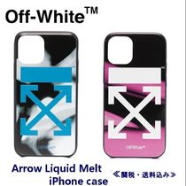 Off-Whiteオフホワイト/Arrow Liquid Melt iPhone ケース