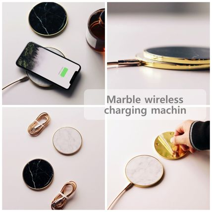 ♥運送費無料♥ Marble wireless charging machin (Deilive/スマホ ...