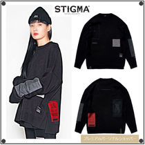 日本未入荷STIGMAのDV OVERSIZED KNIT SWEATER