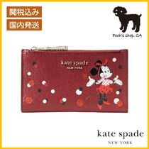 【Kate Spade】minnie mouseコラボ small wallet◆国内発送◆