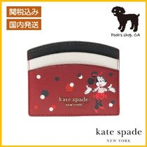 【Kate Spade】minnie mouseコラボ cardholder◆国内発送◆