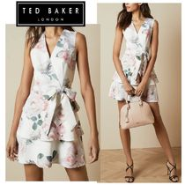 SALE!!【TED BAKER】ティアードワンピース◇リボン×花柄◇