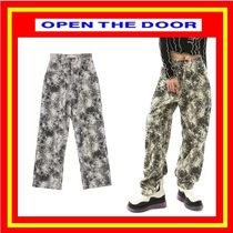 [OPEN THE DOOR]  crack corduroy pants / 追跡付