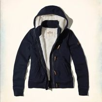 Hollister Co.(ホリスター) パーカー・フーディ レア!Sサイズ、Hollister full-zip Sherpa lined hoodie