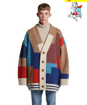 TRUNK PROJECT(トランク プロジェクト) アウターその他 DHL発送 [TRUNK PROJECT] Color Mixed Wool Cardigan Jacket