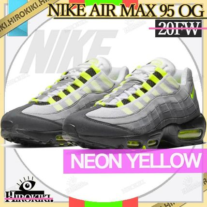 "Nike スニーカー NIKE GS AIR MAX 95 OG ""NEON YELLOW"" 2020 イエローグラデ"