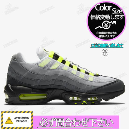 "Nike スニーカー NIKE GS AIR MAX 95 OG ""NEON YELLOW"" 2020 イエローグラデ(4)"