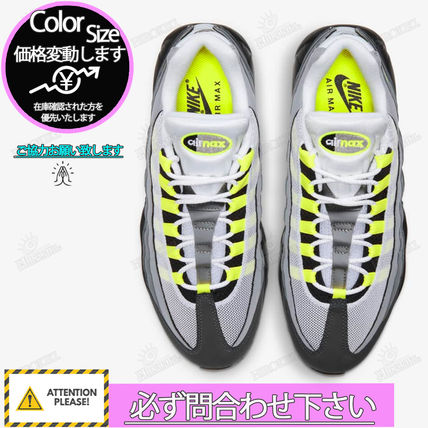 "Nike スニーカー NIKE GS AIR MAX 95 OG ""NEON YELLOW"" 2020 イエローグラデ(5)"