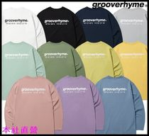 【GROOVERHYME】◆NYC LOCATION LONG SLEEVE T-SHIRTS 11色◆