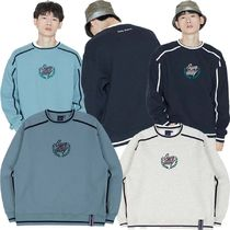 ROMANTIC CROWN★韓国大人気★SHOULDER LINE SWEATSHIRT 3カラー