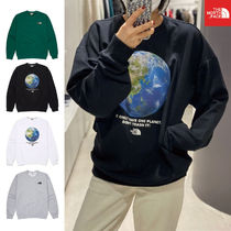 [THE NORTH FACE] NM5MM01 THINK EARTH SWEATSHIRTS スウェット