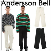 [ANDERSSON BELL] CARGO POCKET WIDE LEGGED TROUSERS★韓国人気