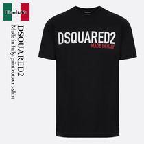 Dsquared2 Made in Italy print cotton t-shirt