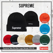 {Supreme} Supreme New Era Box Logo Beanie (FW18) 送料関税込