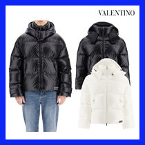 VIP価格【VALENTINO】DOWN JACKET WITH VLTN TAG 関税込