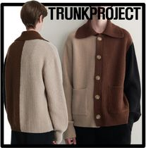 TRUNK PROJECT(トランク プロジェクト) ニット・セーター ★送料・関税込★TRUNK PROJECT★Collar Cashmere Cardiga.n★