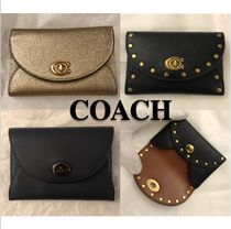 COACH* コンパクトな ハットン COMPLIMENTARY CARD CASE 3色