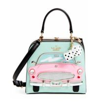 Kate Spade CHECKING IN CAR VIOLINA ハンドバッグ 関税送料込
