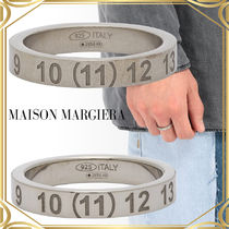 Maison Margiera Numbers Band ring antique / polished antique
