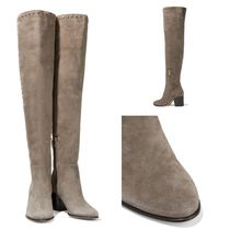 SALE♪JIMMY CHOO Harlem 65 studded suede over-the-knee boots