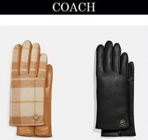 ★COACH Horse And Carriage ★レザーテック 手袋 スマホ対応