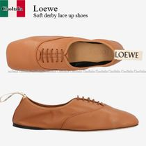 Loewe Soft derby lace up shoes