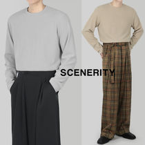 SCENERITY Knit long sleeved T-shirt