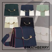 Strathberry☆BOX CRESCENTショルダーバッグ