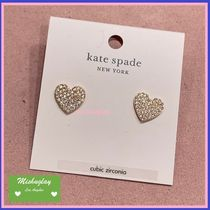 【kate spade】復刻yours truly★キラキラハートピアス★