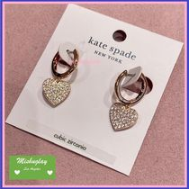 【kate spade】復刻yours truly★ドロップピアス★ハート