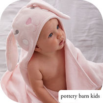 ★PotteryBarn★ Bunny Baby Hooded Towel 名前付け可