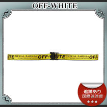 SALE!!送料込≪OFF-WHITE≫ Industrial ロゴ ナイロン ベルト