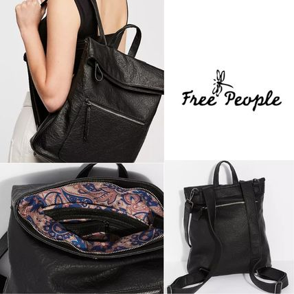 Free People★Lennon Washed Backpack♪
