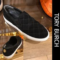 Outlet買付【Tory Burch】SAVANNAH QUILTED SLIP ON SNEAKER