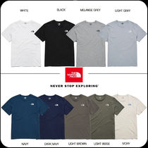 [THE NORTH FACE] ★韓国大人気★TNF BASIC COTTON S/S R/TEE