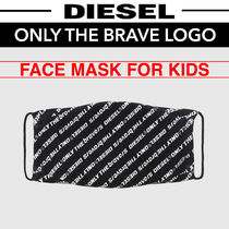 ◆DIESEL◆キッズ◆ONLY THE BRAVE LOGO◆マスク◆