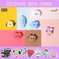 【BT21】face Airpods pro case