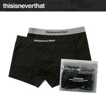 2021SS新作★thisisneverthat★SP Boxer Briefs 2Pack_ブラック