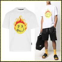 関送込/国内発【Palm Angels】BURNING HEAD S/S Tシャツ