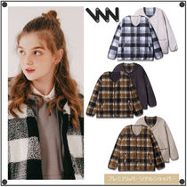 WV PROJECTのChecky reversible no-collar Jacket 全4色