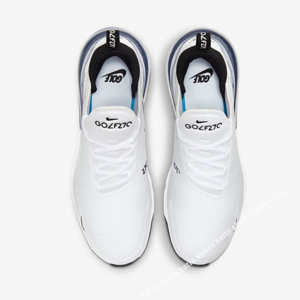Nike メンズ・シューズ NIKE★AIR MAX 270 GOLF★兼用★WHITE/PURE PLATINUM/BLACK(2)