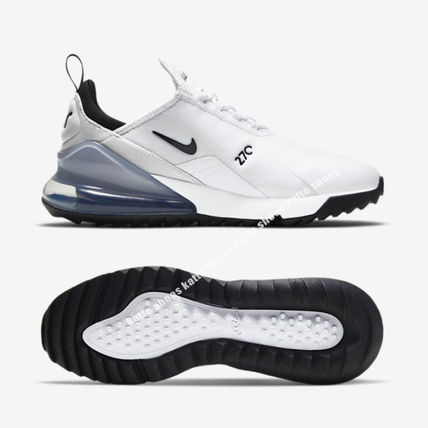 Nike メンズ・シューズ NIKE★AIR MAX 270 GOLF★兼用★WHITE/PURE PLATINUM/BLACK(3)