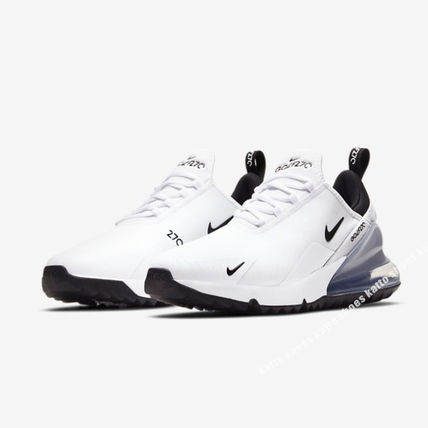 Nike メンズ・シューズ NIKE★AIR MAX 270 GOLF★兼用★WHITE/PURE PLATINUM/BLACK(4)